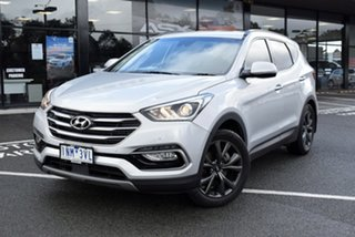 2018 Hyundai Santa Fe DM5 MY18 Active X 2WD Billet Silver 6 Speed Sports Automatic Wagon