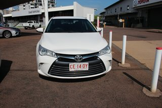 2016 Toyota Camry ASV50R Altise Diamond White 6 Speed Automatic Sedan.