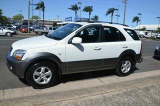 2009 Kia Sorento BL LX White 5 Speed Manual Wagon.