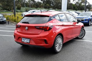 2018 Holden Astra BK MY18.5 R Red/Black 6 Speed Sports Automatic Hatchback