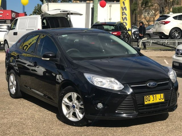 Used Ford Focus LW Trend PwrShift, 2011 Ford Focus LW Trend PwrShift Black 6 Speed Automatic Sedan