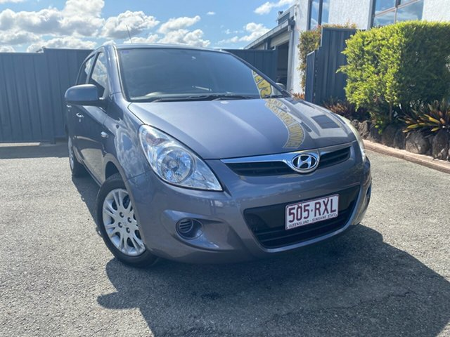 Used Hyundai i20 PB MY12 Active, 2011 Hyundai i20 PB MY12 Active Grey 4 Speed Automatic Hatchback