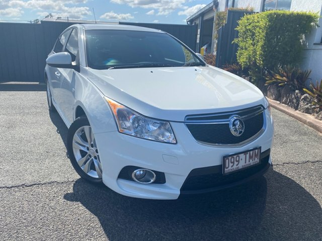 Used Holden Cruze JH Series II MY14 SRi, 2013 Holden Cruze JH Series II MY14 SRi White 6 Speed Sports Automatic Hatchback