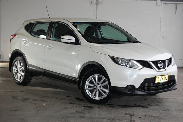 Used Nissan Qashqai J11 ST, 2016 Nissan Qashqai J11 ST Ivory Pearl 1 Speed Constant Variable Wagon