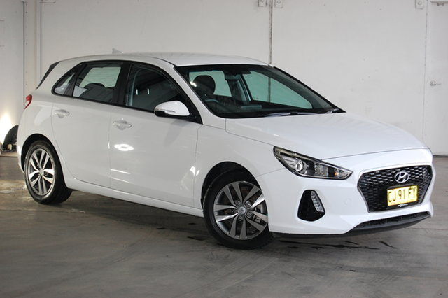 Used Hyundai i30 PD MY18 Active, 2017 Hyundai i30 PD MY18 Active White 6 Speed Sports Automatic Hatchback