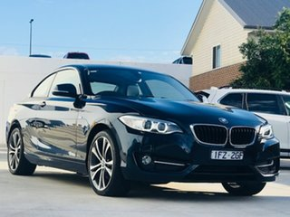 2016 BMW 2 Series F22 228i Sport Line Blue 8 Speed Sports Automatic Coupe