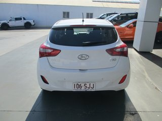 2012 Hyundai i30 GD Active White 6 Speed Manual Hatchback.