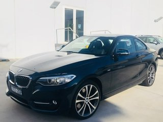 2016 BMW 2 Series F22 228i Sport Line Blue 8 Speed Sports Automatic Coupe.