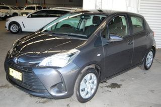 2017 Toyota Yaris NCP130R Ascent Graphite 4 Speed Automatic Hatchback