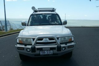 2005 Mitsubishi Pajero NP MY06 Exceed White 5 Speed Sports Automatic Wagon