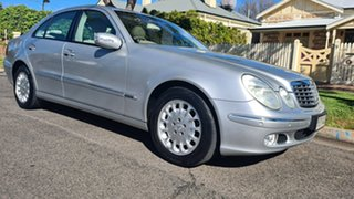 2004 Mercedes-Benz E-Class W211 E320 Elegance Silver 5 Speed Sports Automatic Sedan.