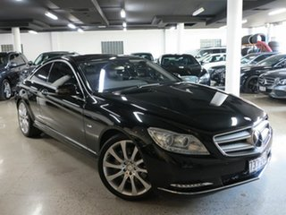 2010 Mercedes-Benz CL-Class C216 MY11 CL500 BlueEFFICIENCY Black 7 Speed Sports Automatic Coupe.