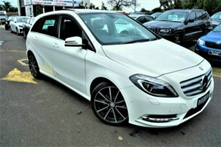 2012 Mercedes-Benz B-Class W246 B200 BlueEFFICIENCY DCT White 7 Speed Sports Automatic Dual Clutch.