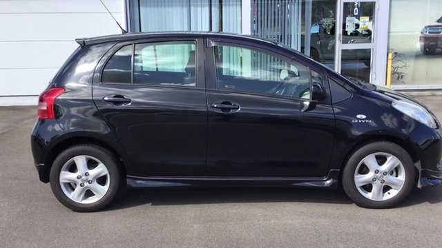 Used Toyota Yaris NCP91R YRX, 2006 Toyota Yaris NCP91R YRX Black 5 Speed Manual Hatchback