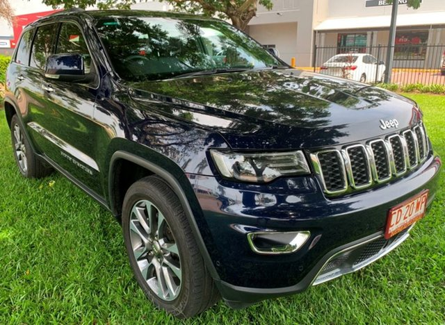 Used Jeep Grand Cherokee WK MY19 Limited, 2018 Jeep Grand Cherokee WK MY19 Limited Blue 8 Speed Sports Automatic Wagon