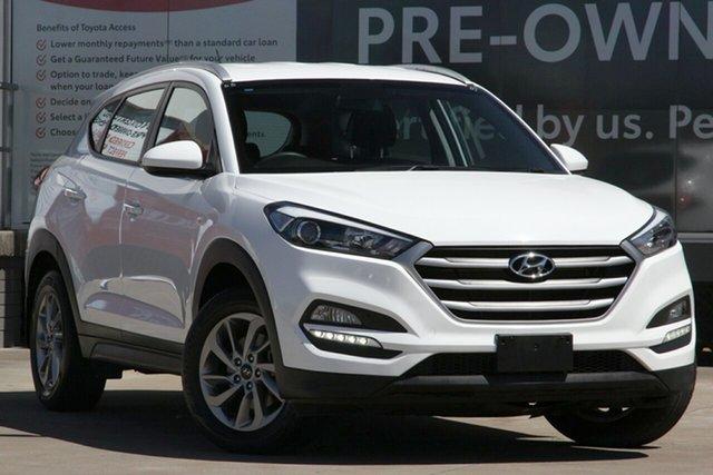 Used Hyundai Tucson TL2 MY18 Active (FWD), 2018 Hyundai Tucson TL2 MY18 Active (FWD) Pure White 6 Speed Automatic Wagon