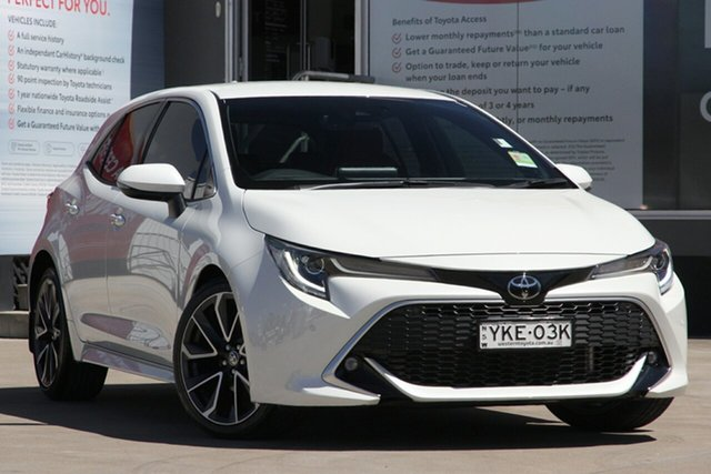 Used Toyota Corolla Mzea12R ZR, 2019 Toyota Corolla Mzea12R ZR Pearl White 10 Speed Constant Variable Hatchback