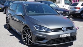 2018 Volkswagen Golf 7.5 MY19 R DSG 4MOTION Grey 7 Speed Sports Automatic Dual Clutch Wagon.