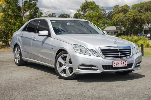 Used Mercedes-Benz E-Class W212 MY12 E250 BlueEFFICIENCY 7G-Tronic + Avantgarde, 2011 Mercedes-Benz E-Class W212 MY12 E250 BlueEFFICIENCY 7G-Tronic + Avantgarde Silver 7 Speed