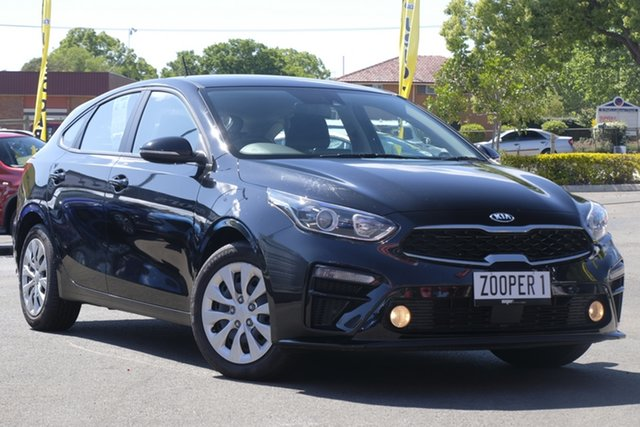 Used Kia Cerato BD MY19 S, 2019 Kia Cerato BD MY19 S Black 6 Speed Sports Automatic Hatchback