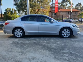 2013 Honda Accord 8th Gen MY12 V6 Luxury Silver 5 Speed Sports Automatic Sedan