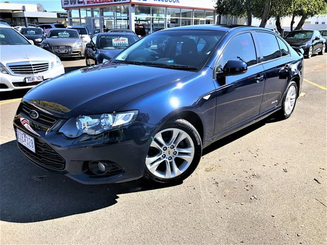 Used Ford Falcon FG MkII XR6 EcoLPi, 2012 Ford Falcon FG MkII XR6 EcoLPi Blue 6 Speed Sports Automatic Sedan