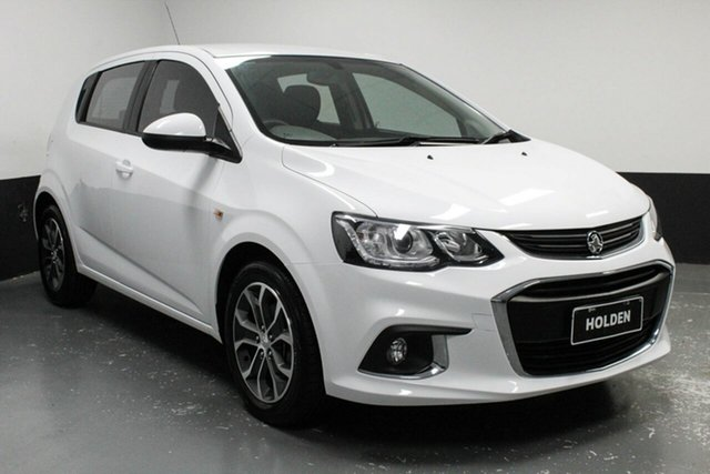 Used Holden Barina TM MY17 LS, 2016 Holden Barina TM MY17 LS White 6 Speed Automatic Hatchback