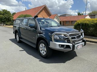 2016 Holden Colorado RG MY17 LT Blue 6 Speed Automatic Dual Cab.