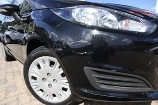 2015 Ford Fiesta WZ Ambiente Black 5 Speed Manual Hatchback.