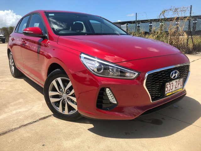 Used Hyundai i30 PD2 MY20 Active Townsville, 2019 Hyundai i30 PD2 MY20 Active Red 6 Speed Sports Automatic Hatchback