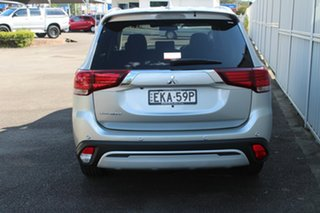 2020 Mitsubishi Outlander ZL MY20 LS 2WD Sterling Silver 6 Speed Constant Variable Wagon