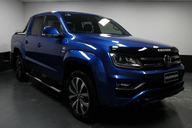 Used Volkswagen Amarok 2H MY19 TDI580 4MOTION Perm Ultimate, 2018 Volkswagen Amarok 2H MY19 TDI580 4MOTION Perm Ultimate Ravenna Blue 8 Speed Automatic Utility