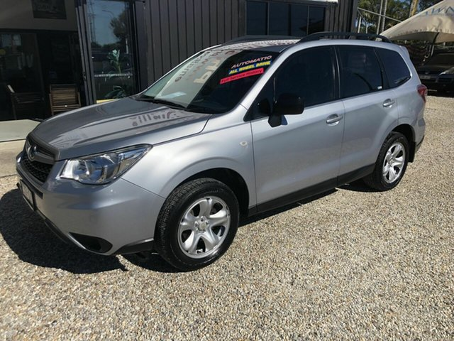 Used Subaru Forester MY14 2.5I Arundel, 2014 Subaru Forester MY14 2.5I Silver Continuous Variable Wagon