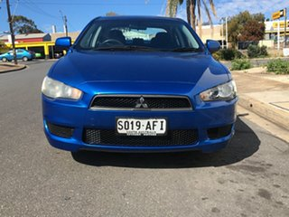 2009 Mitsubishi Lancer CJ MY10 RX Blue 6 Speed Constant Variable Sedan