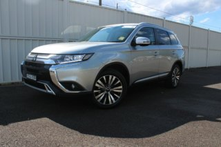 2020 Mitsubishi Outlander ZL MY20 LS 2WD Sterling Silver 6 Speed Constant Variable Wagon.