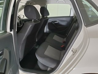 2012 Volkswagen Polo 6R MY13 Trendline White 5 Speed Manual Hatchback