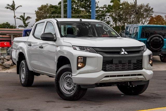 Used Mitsubishi Triton MR MY19 GLX Double Cab, 2019 Mitsubishi Triton MR MY19 GLX Double Cab White 6 Speed Manual Utility