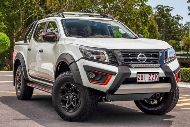 Demo Nissan Navara D23 S4 MY20 N-TREK Warrior Aspley, 2020 Nissan Navara D23 S4 MY20 N-TREK Warrior White Diamond 7 Speed Sports Automatic Utility