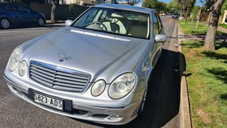 2004 Mercedes-Benz E-Class W211 E320 Elegance Silver 5 Speed Sports Automatic Sedan