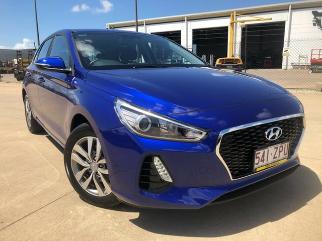 Used Hyundai i30 PD2 MY20 Active Townsville, 2020 Hyundai i30 PD2 MY20 Active Blue 6 Speed Sports Automatic Hatchback