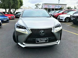 2015 Lexus NX AGZ15R NX200t AWD Sports Luxury Grey 6 Speed Sports Automatic Wagon