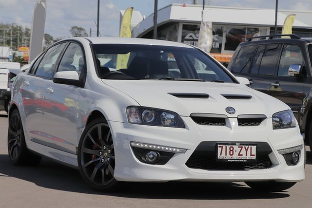 Used Holden Special Vehicles ClubSport E Series 3 MY12.5 , 2012 Holden Special Vehicles ClubSport E Series 3 MY12.5 White 6 Speed Manual Sedan
