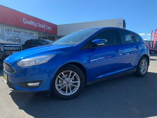 2017 Ford Focus Trend Blue Automatic Hatchback.