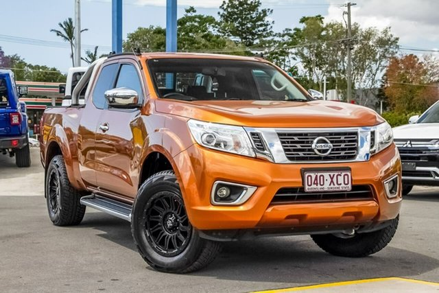 Used Nissan Navara D23 ST-X, 2016 Nissan Navara D23 ST-X Orange 7 Speed Sports Automatic Utility