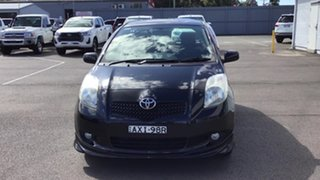 2006 Toyota Yaris NCP91R YRX Black 5 Speed Manual Hatchback