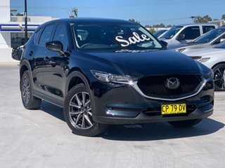 2018 Mazda CX-5 KF4WLA Akera SKYACTIV-Drive i-ACTIV AWD Black 6 Speed Sports Automatic Wagon.
