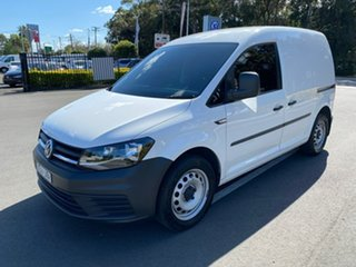 2015 Volkswagen Caddy 2KN MY16 TSI220 SWB DSG White 7 Speed Sports Automatic Dual Clutch Van.