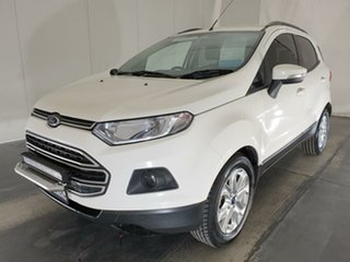 2015 Ford Ecosport BK Trend PwrShift White 6 Speed Sports Automatic Dual Clutch Wagon.