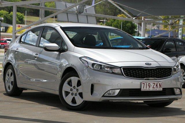 Used Kia Cerato YD MY18 S, 2018 Kia Cerato YD MY18 S Silver 6 Speed Sports Automatic Sedan