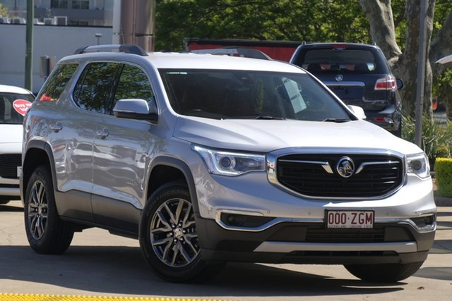 Used Holden Acadia AC MY19 LTZ 2WD Toowoomba, 2019 Holden Acadia AC MY19 LTZ 2WD Silver 9 Speed Sports Automatic Wagon